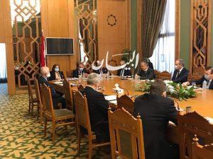 مساعد وزير الخارجية للشئون الأوروبية يلتقي سفراء عدد من الدول الأوروبية