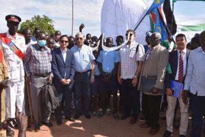 وفد من جامعة الإسكندرية يزور جنوب السودان