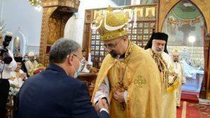 محافظ المنيا يشهد حفل تجليس الأنبا باسيليوس، مطراناً لإبراشية الاقباط الكاثوليك