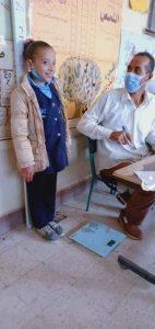 فحص 93 ألف طالب بالمرحلة الابتدائية لعلاج امراض سوء التغذية بالمنيا