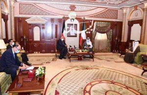 في ثاني محطات زيارته للكويت... وزير الخارجية يلتقي ولي العهد
