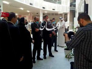 وزيرة التجارة والصناعة تتفقد مبنى الجناح المصري بمعرض اكسبو دبي 2020