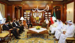 وزير الخارجية يعقد جولة مباحثات رسمية مع نظيره الكويتي