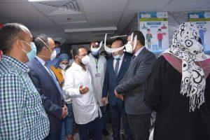 أبو زيد :  يتفقد المركز التكنولوجى لمتابعة اجراءات استقبال طلبات التصالح