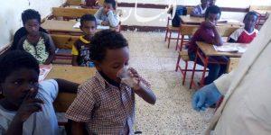 تجريع عدد 66654 تلميذ ضمن فاعليات الحملة القومية للقضاء على الديدان المعوية بالبحر الأحمر