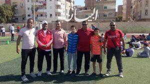 وكيل وزارة الشباب والرياضة يتابع إختبارات المشروع القومي للموهبة والبطل الأولمبي بالبحرالأحمر