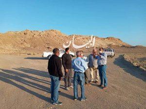 نصر : يدرس مع ممثلى جهاز التعمير بعض المقترحات لإنشاء طريق يربط قرية الحمراوين بالطريق الإقليمى