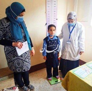 صحة البحيرة فحص 159884طالب ضمن المبادرة الرئاسية لعلاج أمراض سوء التغذية بالمدارس