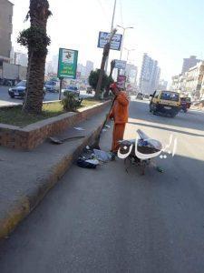 محافظ الغربية يتابع أعمال رفع المخلفات والنظافة اليومية بقري ومراكز المحافظة