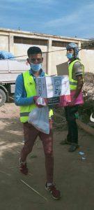 """استمرار توزيع أكبر قافلة مساعدات إنسانية يطلقها صندوق """" تحيا مصر"""" بالبحيرة"""