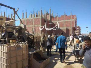 رئيس مدينة سفاجا تتفقد تقاسيم المدينة لمتابعة تراخيص البناء