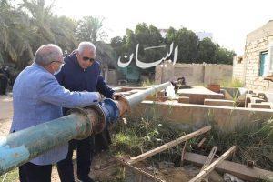 محافظ الوادي الجديد : بروتوكول تعاون بين وزارة الموارد المائية والرى