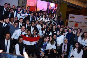 """""""اورنچ مصر"""" ترعى مسابقة ايناكتس المحلية لعام 2019 بمشاركة 52 جامعة مصرية"""
