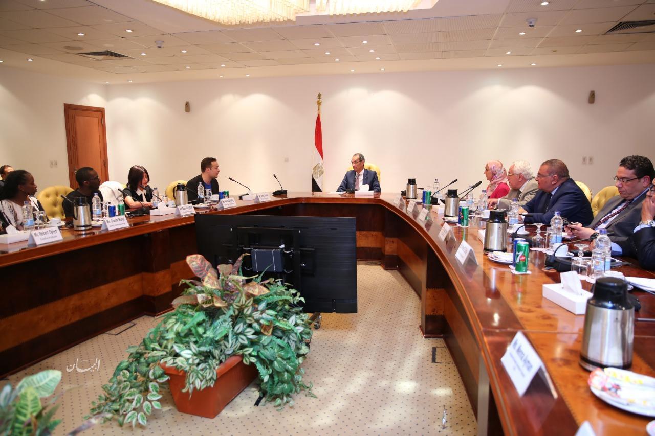 """عمرو طلعت : يشهد توقيع اتفاقية بين هيئة تنمية صناعة تكنولوجيا المعلومات """"ايتيدا"""" وشركة أنديلا العالمية"""