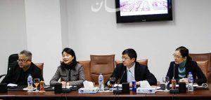 """وفدا صينيا من مقاطعة """"جيانجشي """" يزور المنطقة الاقتصادية لبحث فرص الاستثمار بها"""