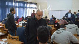 رئيس جامعة الزقازيق يتابع جولاته لتفقد سير أعمال الامتحانات بكليات التربية والهندسة والحقوق