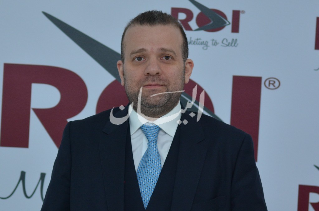 Maroun Al Najjar, Founder and General Manager of ROI Middle East.