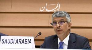المملكة تدعو المجتمع الدولي لتمديد حظر السلاح على إيران وتحذر من عدم تمديده