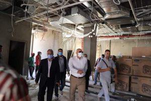 خلال جولته بمركز الداخلة : الزملوط يتفقد أعمال الإنشاءات بالمجمع الإسلامي بمدينة موط