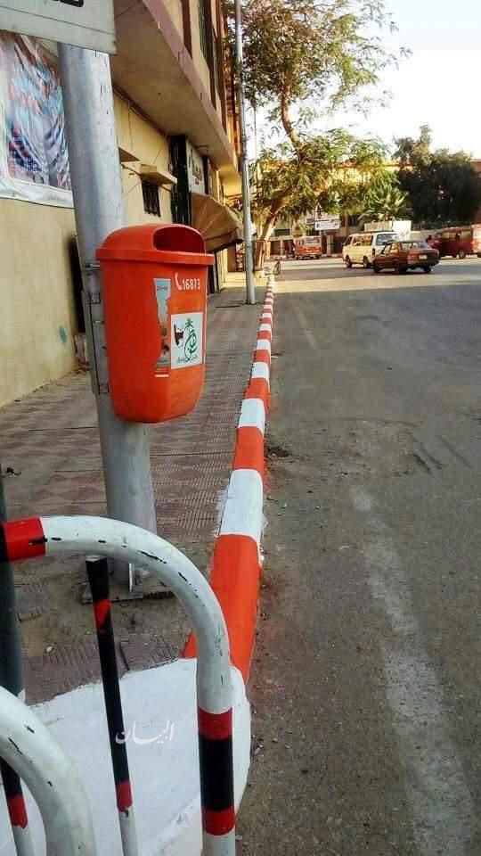 حملات مكثفة للنظافة والتجميل بمختلف شوارع وميادين مدينة سوهاج