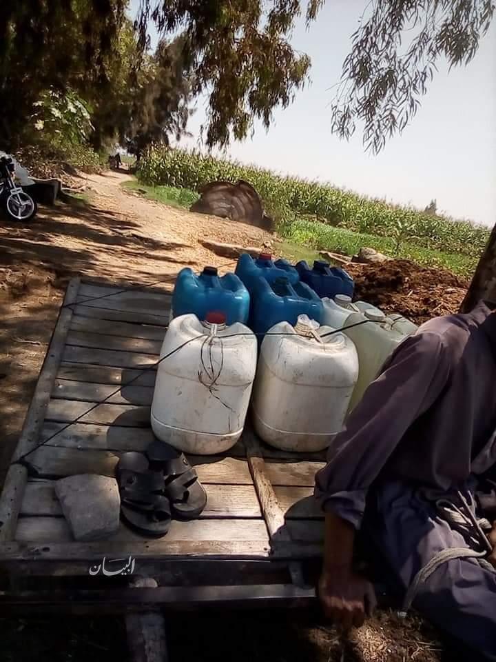 بالصور .. انقطاع مياه الشرب عن قري الدقهلية ومواطن يتقدم ببلاغ الي النائب العام ضد شركة المياه